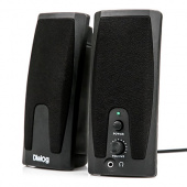 Колонки Dialog Colibri AC-21UP black 2w USB 2.0